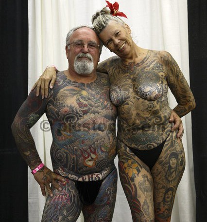 Tattoo And Body Art Convention In San Francisco